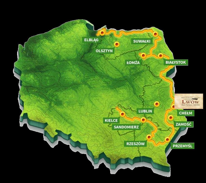trasa_rowerowa_mapa_polski_hotel_lwow